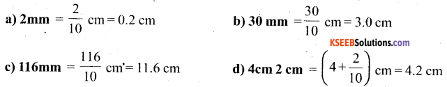 KSEEB Solutions for Class 6 Maths Chapter 8 Decimals Ex 8.1 8