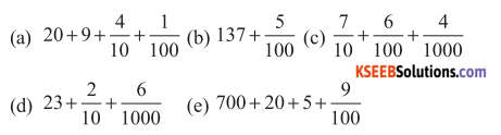 KSEEB Solutions for Class 6 Maths Chapter 8 Decimals Ex 8.2 71