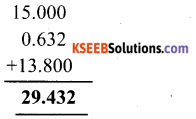 KSEEB Solutions for Class 6 Maths Chapter 8 Decimals Ex 8.5 2