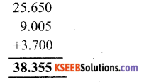 KSEEB Solutions for Class 6 Maths Chapter 8 Decimals Ex 8.5 4