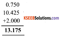 KSEEB Solutions for Class 6 Maths Chapter 8 Decimals Ex 8.5 5