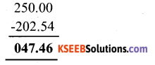 KSEEB Solutions for Class 6 Maths Chapter 8 Decimals Ex 8.6 2