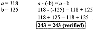 KSEEB Solutions For Class 7 Maths Kannada Medium Integers