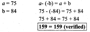KSEEB Solutions 7th Standard Integers