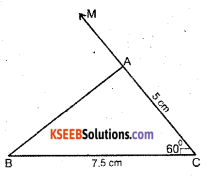 KSEEB Solutions for Class 7 Maths Chapter 10 Practical Geometry Ex 10.3 3