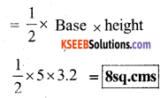 KSEEB Solutions for Class 7 Maths Chapter 11 Perimeter and Area Ex 11.2 58