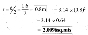 KSEEB Solutions for Class 7 Maths Chapter 11 Perimeter and Area Ex 11.3 23