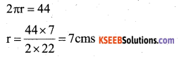KSEEB Solutions for Class 7 Maths Chapter 11 Perimeter and Area Ex 11.3 26