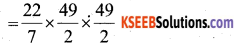 KSEEB Solutions for Class 7 Maths Chapter 11 Perimeter and Area Ex 11.3 6