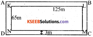 KSEEB Solutions for Class 7 Maths Chapter 11 Perimeter and Area Ex 11.4 60