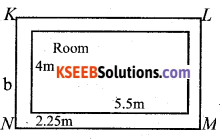 KSEEB Solutions for Class 7 Maths Chapter 11 Perimeter and Area Ex 11.4 62