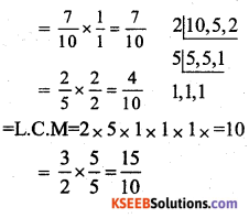 KSEEB Solutions 7th Standard Maths