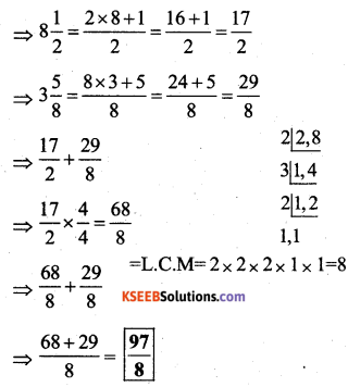 KSEEB Solutions for Class 7 Maths Chapter 2 Fractions and Decimals Ex 2.1 18