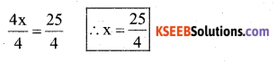 KSEEB Solutions for Class 7 Maths Chapter 4 Simple Equations Ex 4.2 13