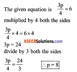 KSEEB Solutions for Class 7 Maths Chapter 4 Simple Equations Ex 4.2 40