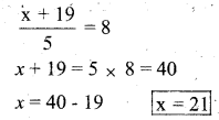 KSEEB Solutions for Class 7 Maths Chapter 4 Simple Equations Ex 4.4 6