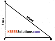 KSEEB Solutions for Class 7 Maths Chapter 6 The Triangles and Its Properties Ex 6.5 2