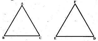 KSEEB Solutions for Class 7 Maths Chapter 7 Congruence of Triangles Ex 7.1 1
