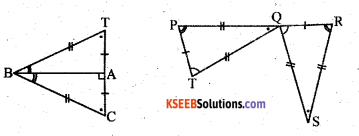 KSEEB Solutions for Class 7 Maths Chapter 7 Congruence of Triangles Ex 7.2 10