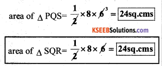 KSEEB Solutions for Class 7 Maths Chapter 7 Congruence of Triangles Ex 7.2 12