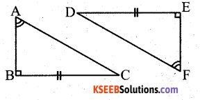 KSEEB Solutions for Class 7 Maths Chapter 7 Congruence of Triangles Ex 7.2 54