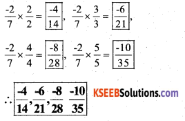 KSEEB Solutions for Class 7 Maths Chapter 9 Rational Numbers Ex 9.1 27
