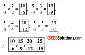 KSEEB Solutions for Class 7 Maths Chapter 9 Rational Numbers Ex 9.1 28