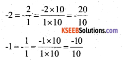 KSEEB Solutions for Class 7 Maths Chapter 9 Rational Numbers Ex 9.1 4