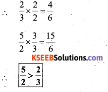 KSEEB Solutions for Class 7 Maths Chapter 9 Rational Numbers Ex 9.1 71