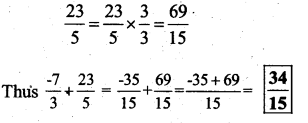 KSEEB Solutions for Class 7 Maths Chapter 9 Rational Numbers Ex 9.2 171