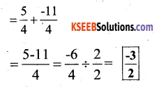KSEEB Solutions for Class 7 Maths Chapter 9 Rational Numbers Ex 9.2 2