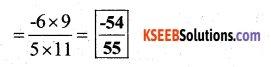 KSEEB Solutions for Class 7 Maths Chapter 9 Rational Numbers Ex 9.2 34