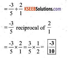 KSEEB Solutions for Class 7 Maths Chapter 9 Rational Numbers Ex 9.2 45