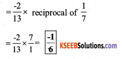 KSEEB Solutions for Class 7 Maths Chapter 9 Rational Numbers Ex 9.2 52