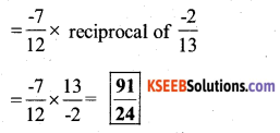 KSEEB Solutions for Class 7 Maths Chapter 9 Rational Numbers Ex 9.2 54