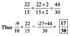 KSEEB Solutions for Class 7 Maths Chapter 9 Rational Numbers Ex 9.2 62