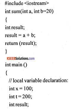 1st PUC Computer Science Model Question Paper 3 with Answer 8