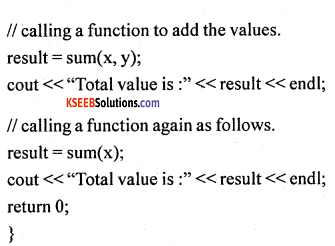 1st PUC Computer Science Model Question Paper 3 with Answer 9
