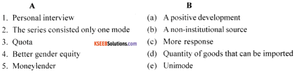 1st PUC Economics Model Question Paper 4 with Answers img 1
