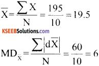 1st PUC Economics Question Bank Chapter 6 Measures of Dispersion image - 12