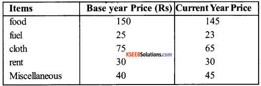 1st PUC Economics Question Bank Chapter 8 Index Numbers image - 17