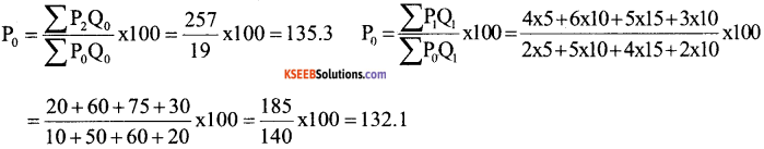 1st PUC Economics Question Bank Chapter 8 Index Numbers image - 25