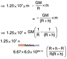 1st PUC Physics Question Bank Chapter 8 Gravitation img 9