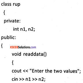 2nd PUC Computer Science Model Question Paper 3 with Answers 11