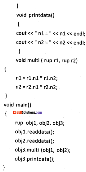 2nd PUC Computer Science Model Question Paper 3 with Answers 12