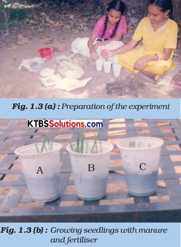 KSEEB Solutions for Class 8 Science Chapter 1 Crop Production and Management Activity Q2